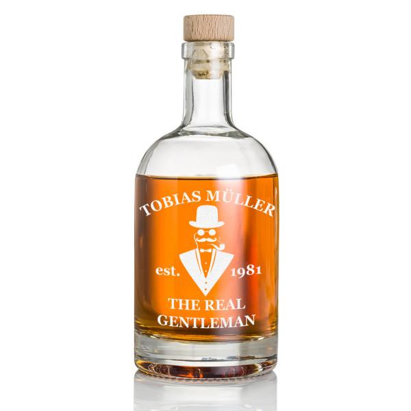 Whisky Flasche mit Gratis Wunschgravur