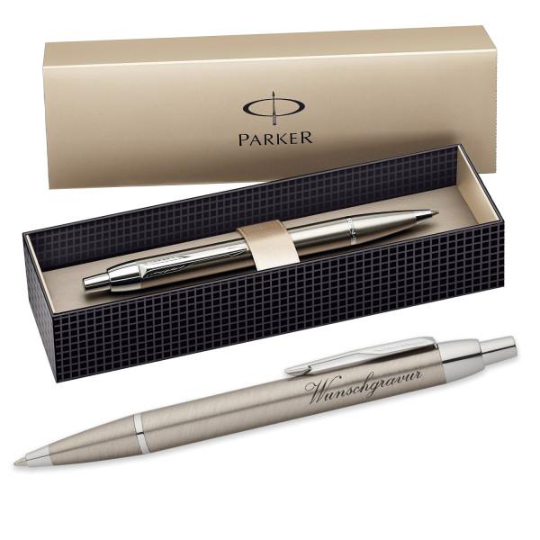 Personalisierter Kugelschreiber mit Wunschgravur von Parker