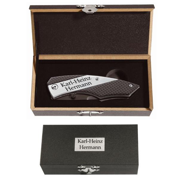 Metmaxx Messer Slider Pro Carbon inkl. Gravur