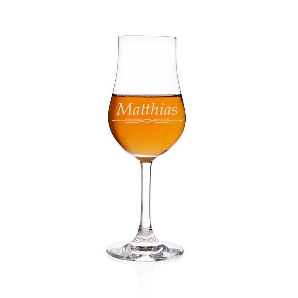 Malt Whisky The Glencairn Glass Destillatglas Classic mit Gravur