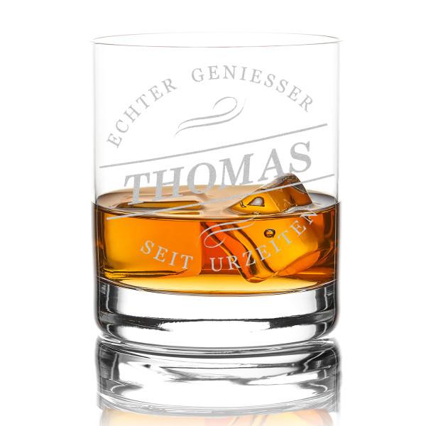 Whiskyglas New York Bar mit Wunschgravur