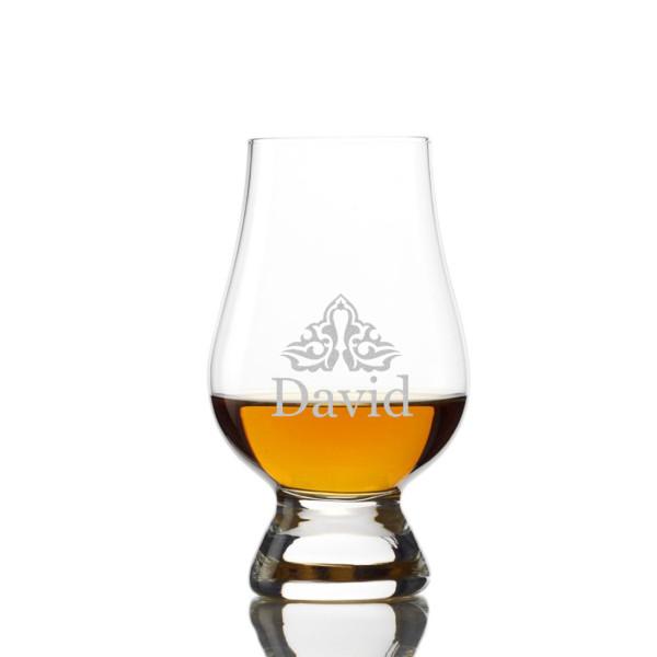 Whisky Nosing Glencairn Glas mit Gravur