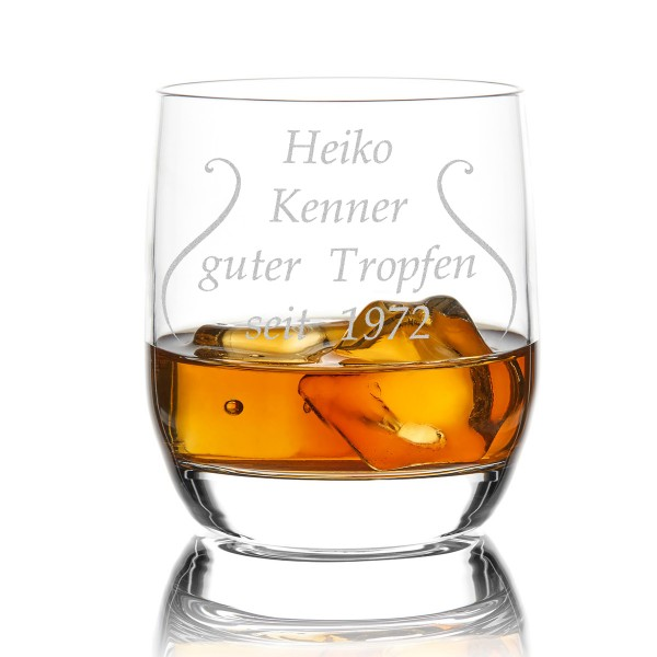 Whiskyglas Stölzle Lausitz mit Gratis Wunschgravur