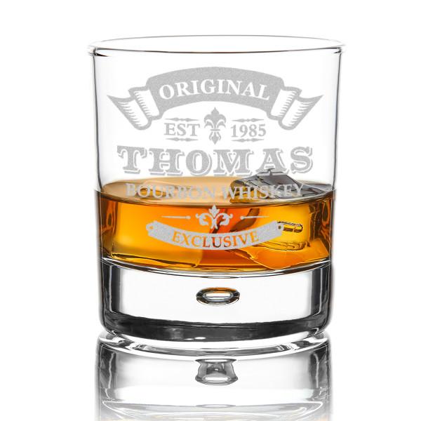 Whiskyglas mit Wunschgravur
