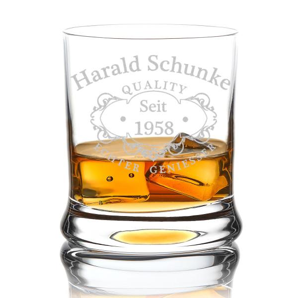 Leonardo Whiskyglas mit Wunschgravur