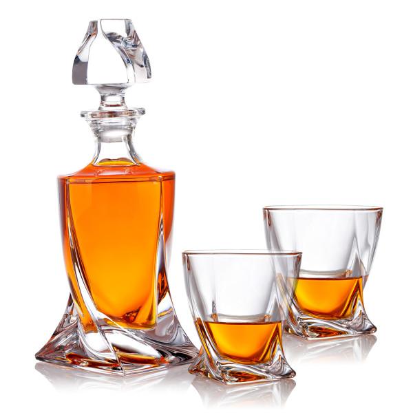 Whisky Set Karaffe und Whiskygläser das perfekte Geschenk für Whiskyliebhaber
