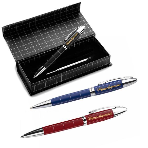 Kugelschreiber Castle inkl. Gravur mit Geschenkbox