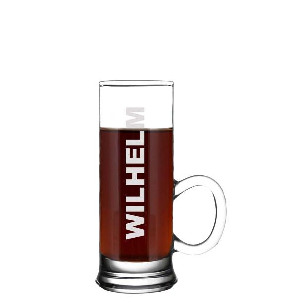 Stamper Schnapsglas mit Henkel inkl. Wunschgravur